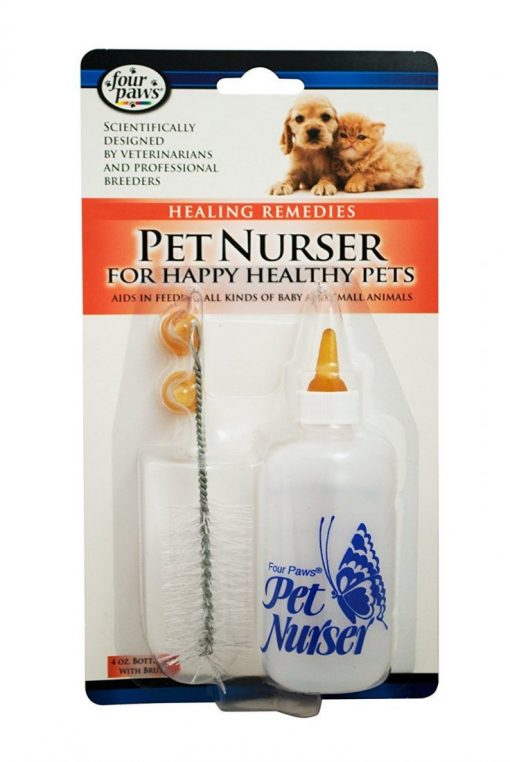 Four Paws Pet Nurser Bottle Feeding Kit