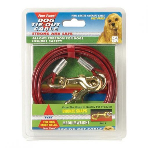 Four Paws Tie-Out Cable - Medium Weight