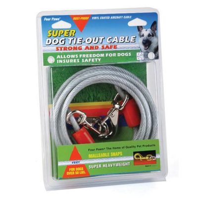 Four Paws Tie-Out Cable - Super Weight