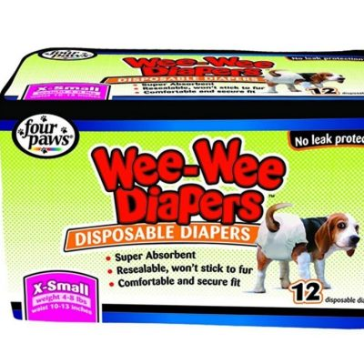 Four Paws Wee-Wee Dog Diapers