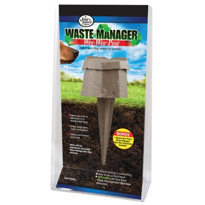 Four Paws Wee-Wee Waste Manager Post