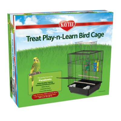 Kaytee Play N Learn Cage for Parakeets