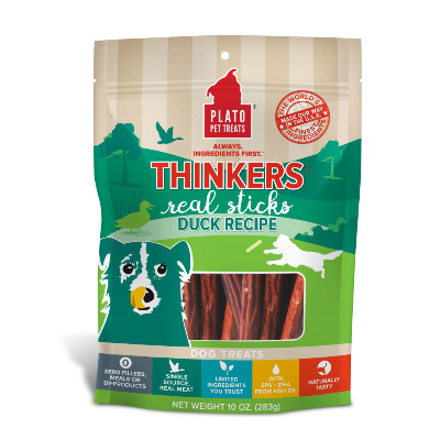 buy Plato-Pet-Treats-Thinkers-Duck-Dog-Chews