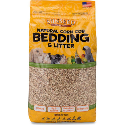 buy Sunseed Natural Corn Cob Bedding For Small Animals
