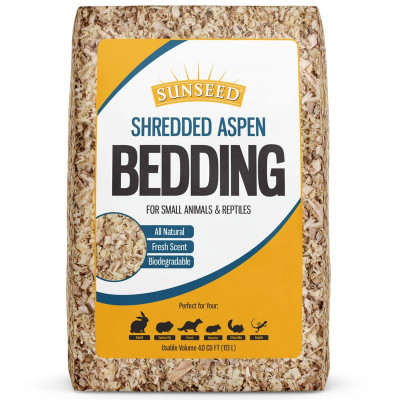 buy Sunseed Shredded Aspen Bedding For Small Animals