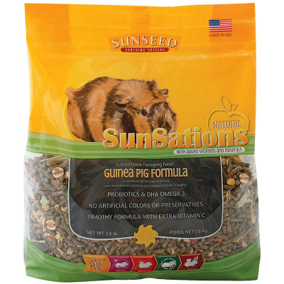 buy Sunseed SunSations Natural Guinea Pig Formula