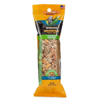 Buy Vitakraft Grainola Harvest Crunch Treat Bar for Birds