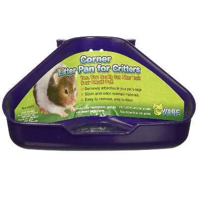 buy Ware Corner Ferret Litter Pan For Critters And Small Animals