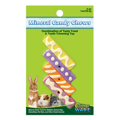 buy Ware-Mineral-Essentials-Mineral-Candy-Chew-4-Pieces-For-Small-Animals