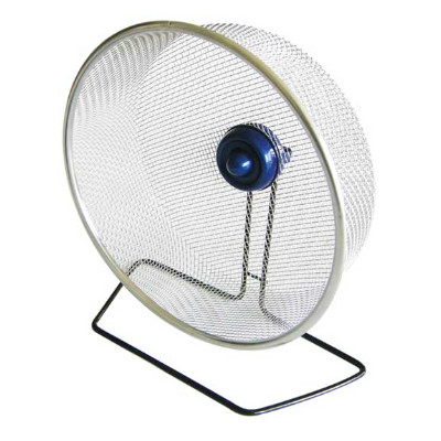 buy Ware Stainless Steel Exercise Wheel Small Animal Cage Accessory