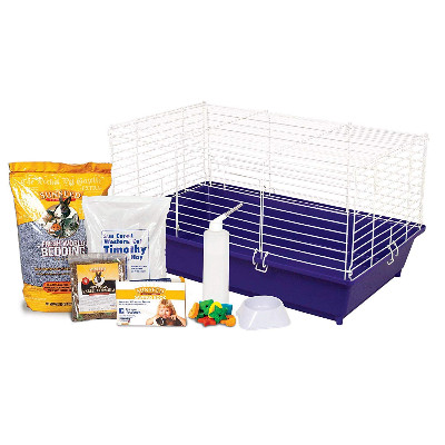 buy Ware Sunseed Rabbit Cage and Starter Kit
