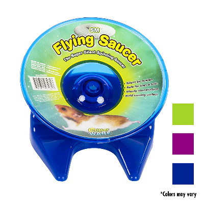 buy ware-flying-saucer-silent-excercise-wheel-for-small-animals