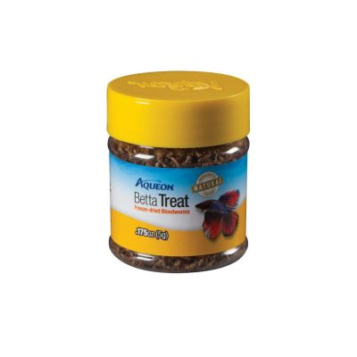 Aqueon Bloodworm Betta Fish Treat