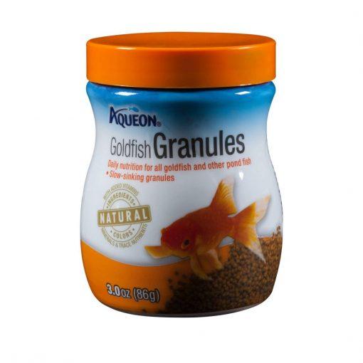 Aqueon Granulated Goldfish Food