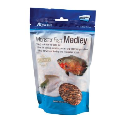 Aqueon Monster Fish Medley Large Fish Food