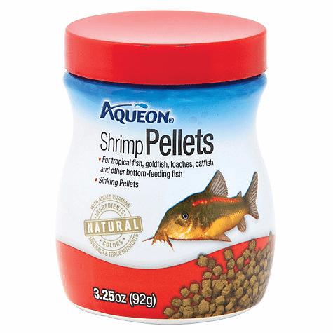 Aqueon Shrimp Pellets Bottom Feeder Fish Food