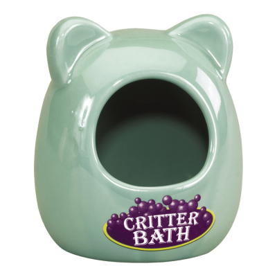 Kaytee Ceramic Critter Bath for Small Animals