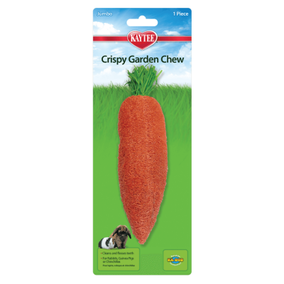 Kaytee Crispy Garden Loofah Chew Toy for Small Animals