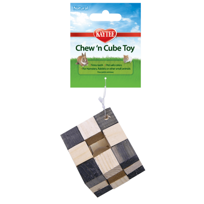 Kaytee Natural Chew-N-Cube Toy for Small Animals
