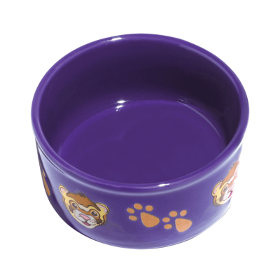 Kaytee Pawprint Petware  Ferret Silhouette Small Animal Feeding Dish