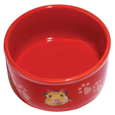 Kaytee Pawprint Petware Guinea Pig Silhouette Small Animal Feeding Dish