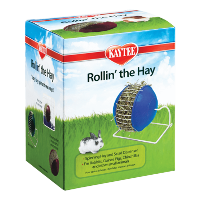Kaytee Rabbit Rollin' The Hay Holder for Small Animals