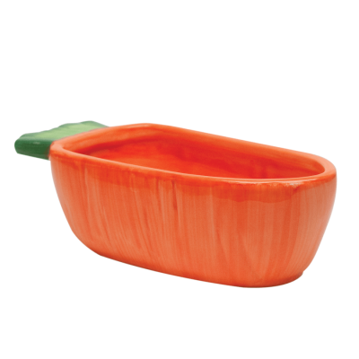 Kaytee Vege-T-Bowl Carrot Dish for Small Animals