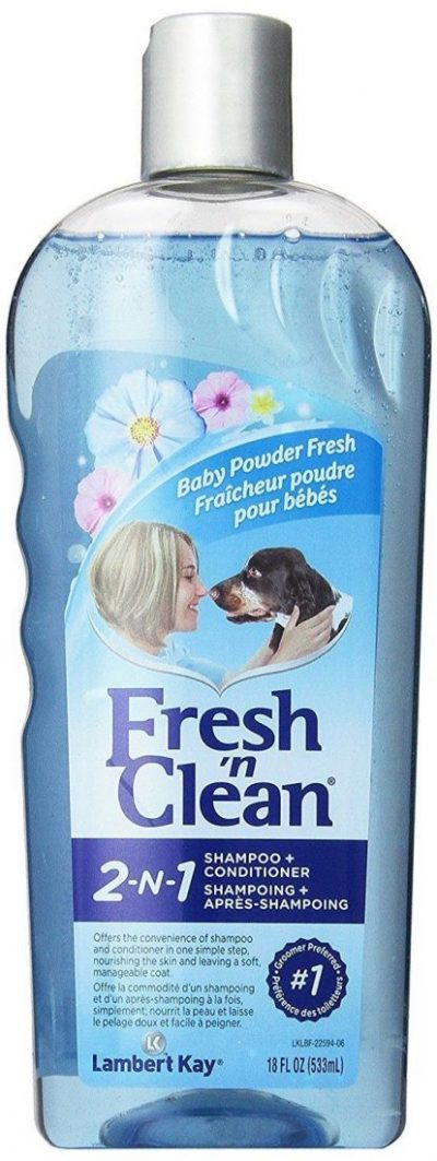Lambert Kay Fresh 'n Clean Baby Powder Shampoo for Dogs and Cats