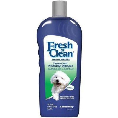 Lambert Kay Fresh 'n Clean Snowy-Coat Whitening Shampoo for Dogs and Cats