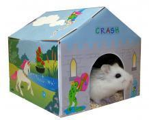 Lixit Deco House Disposable Houses for Small Animals