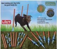 Lixit Dog Agility Training Weave Poles