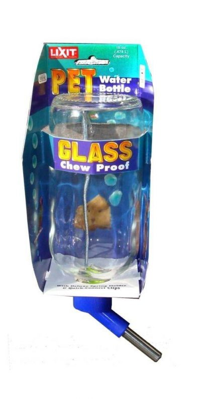 Lixit Glass Economy Water Bottles for Small Animals