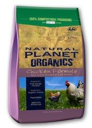 NATURAL PLANET Organics Chicken Formula Dry Cat Food for All Ages