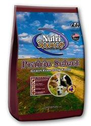 NUTRI SOURCE Prairie Select Grain Free Dry Dog Food - Quail - for All Life Stages