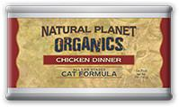 Natural Planet Organics Canned Cat Food for All Ages