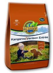 Natural Planet Organics Grain Free Dry Dog Food – Kangaroo and Venison – for All Life Stages
