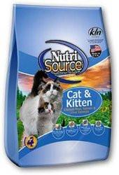 Nutri Source Chicken Meal, Salmon and Liver Cat and Kitten Food for All Ages