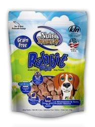 Nutri Source Grain Free Dog Treats - Rabbit