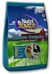 Nutri Source Grain Free Dry Dog Food - Chicken - for All Life Stages