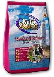 Nutri Source Grain Free Dry Dog Food - Seafood Select - For All Life Stages