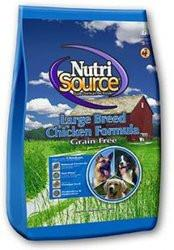 Nutri Source Grain Free Large Breed Dry Dog Food – Chicken