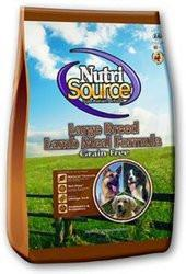 Nutri Source Grain Free Large Breed Dry Dog Food - Lamb