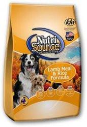 Nutri Source Lamb and Rice Dry Dog Food for All Life Stages