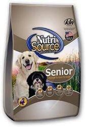 Nutri Source Senior Dog Food - Chicken and Rice