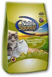 Nutri Source Senior Weight Management  Cat Food