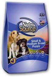 Nutri Source Small Breed and Medium Breed Puppy Dog Food - Chicken and Rice