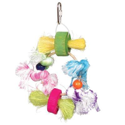 Prevue Hendryx Birdie Basics Stick Stax Bird Cage Toys - Lots of Knots