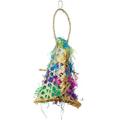 Prevue Hendryx Calypso Creations Fiesta Handbag Bird Cage Toy