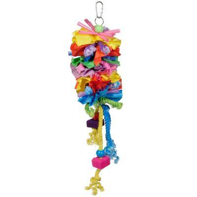 Prevue Hendryx Calypso Creations Short Stack Bird Cage Toy