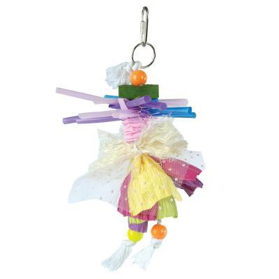 Prevue Hendryx Calypso Creations Spinning Straws Bird Cage Toy